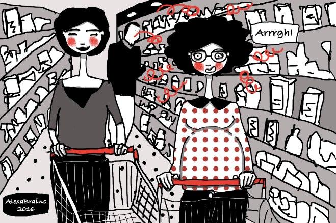 Gravidanza-Supermercato
